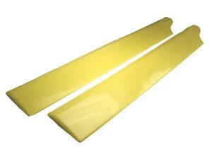 235mm Super Durable Yellow Flat Bottom PLASTIC BLADES Blade CP VTS-101Y