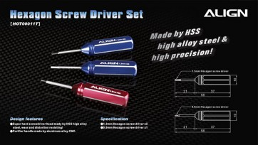 Align Trex Hexagon Screw Driver Set HOT00011