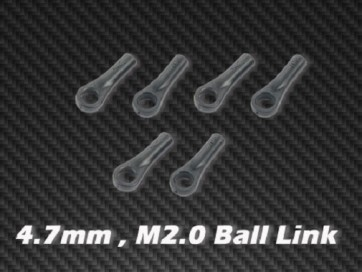 Xtreme Accessories 4.7mm M2.0 Ball Link x6 for HPTB011,012,013 HPAT50004 AT55003