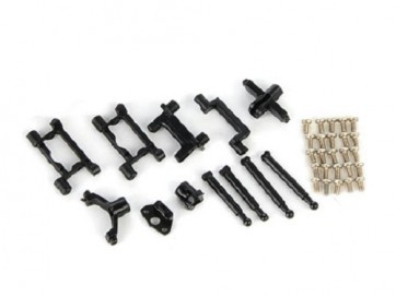 Xtreme Blade MCPX Carbon Chassis set MCPX016-A