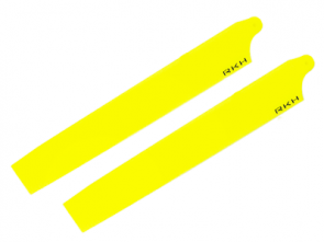 Rakon Plastic Main Blade 135mm Yellow Blade 130X 130X208-Y