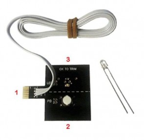 SwitchGlo / Push Glo push button led DIY Kit ZRC-DIY-PBLED