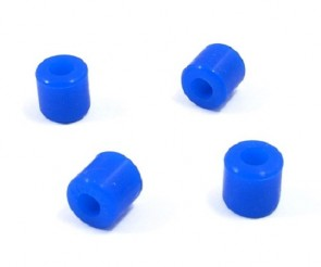 Xtreme King 2 Landing Skid Rubber Nut Blue (10 x 4.5 x 10mm) EA-013-B