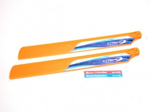 Xtreme Accessories Fiber Blade (235mm-Orange) (Esky CP3, Blade SR) EA-054-O