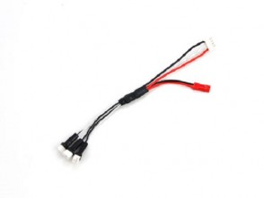 Xtreme Blade MCPX Charging Cable for 3pcs MCPX 1s Lipo (Banlance Charger required) EA-057-B