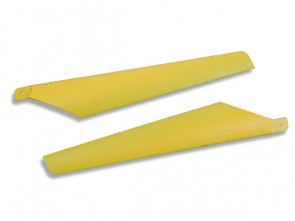 Xtreme Blades Hard Blade for Lama and CX 1 pair Upper Yellow ESL005-Y