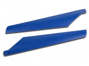 Xtreme Lama V3 Hard Blade for Lama and CX 1 pair Lower Blue ESL006-B