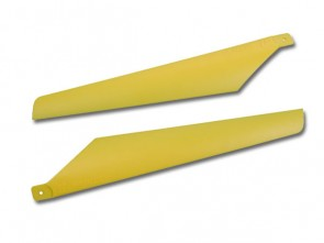 Xtreme Lama V3 Hard Blade for Lama and CX 1 pair Lower Yellow ESL006-Y