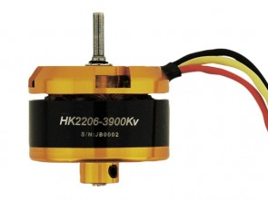 Scorpion Brushless Motor, Kv=3900 HK-2206-3900