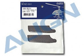 Align Trex 450 Carbon Tail Rotor Blade Set/3K HS1132