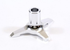 DELUXE Swashplate Leveler Tool 10mm shaft SILVER for JR VIBE 50 HR1128