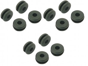 MARTNO1 Canopy Mounting Rubber Grommet 12pcs - BLADE 230S 200SRX 180CFX