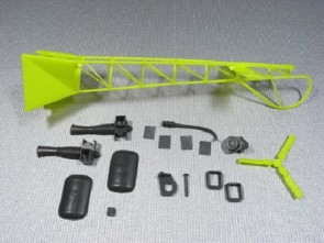 Xtreme Lama v3 V2 Flexible Tail w/ Engine -Yellow ESL023
